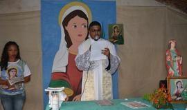 Comunidade Santarém celebra tríduo de Santa Luzia