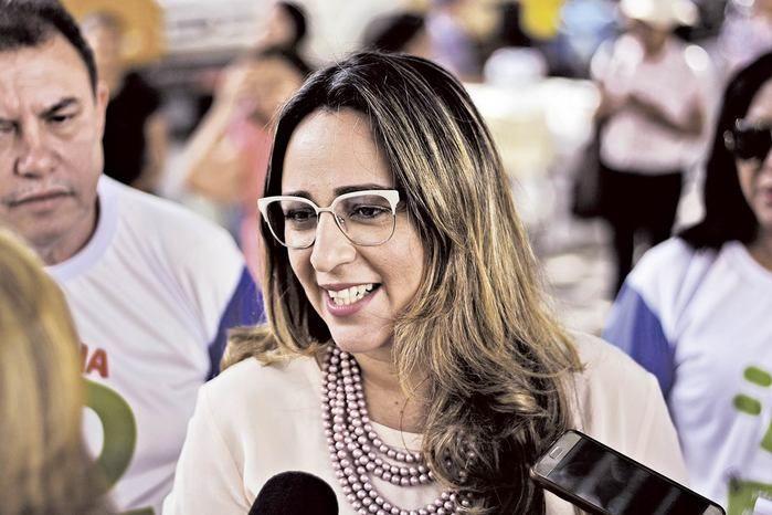 Rejane Dias (Crédito: Gabriel Paulino)