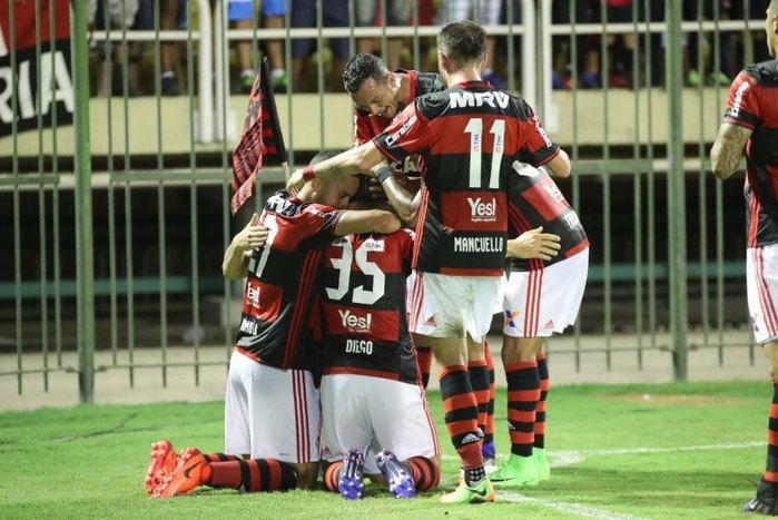 Flamengo venceu o Macaé
