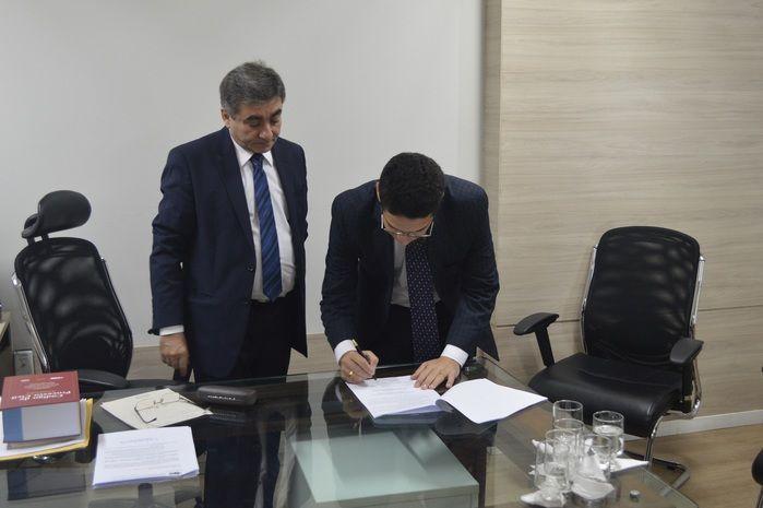 Assinatura do Termo de Cooperação Técnica que instala a Central de Alvará de Soltura