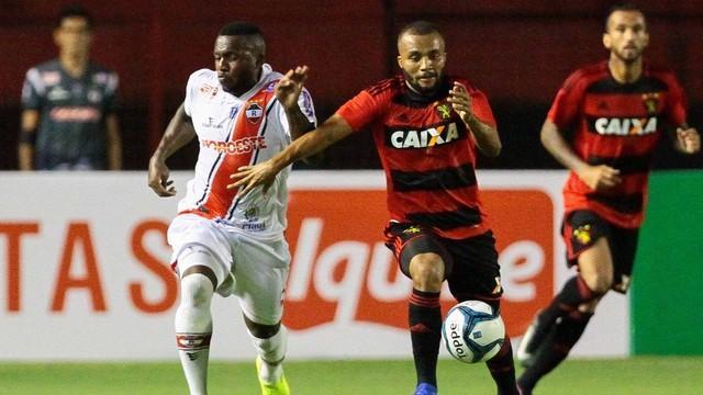 River e Sport empataram em 2 a 2 (Crédito: Globoesporte.com)