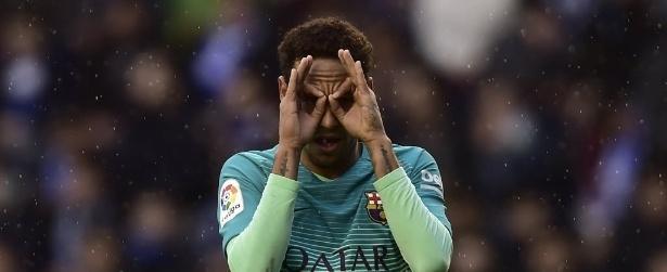 Barcelona goleia no Espanhol e Neymar supera recorde de Ronaldinho