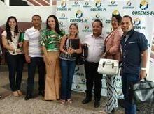 Sec. de Saúde Cledja Benvindo participa de encontro em Teresina