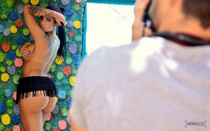 Mayara Motti posa para Paparazzo