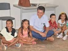 Marcos Elvas participa de acolhida a alunos da rede municipal