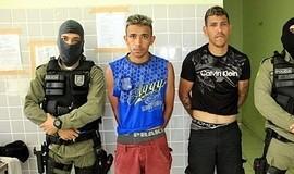 Polícia Militar prende elementos poucos minutos após furto de moto