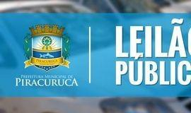Prefeitura de Piracuruca lança edital para leiloar veículos