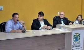 Vereadores parnaibanos discutem problemática das invasões de terras