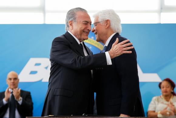 Moreira Franco e Michel Temer (Crédito: Reprodução)