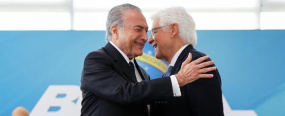 Ministro do STF mantém nomeação de Moreira Franco