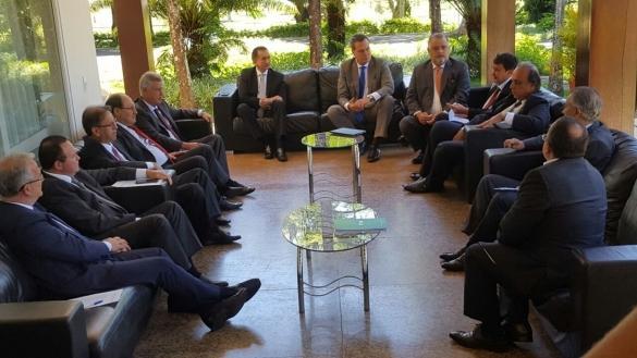 Governadores se reúnem em Brasília (Crédito: Divulgação)