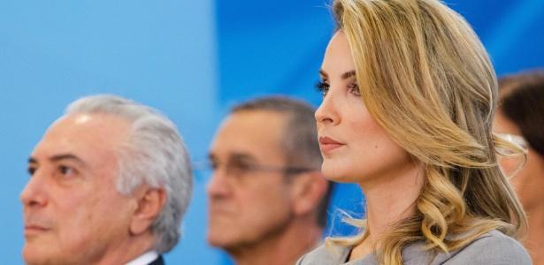 Primeira-dama Marcela Temer