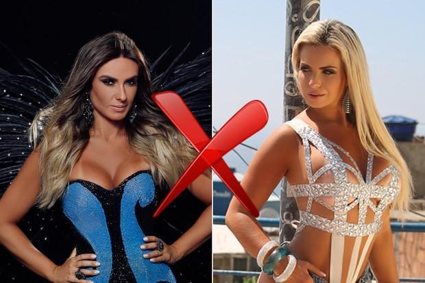 Nicole Bahls e Veridiana  trocaram farpas