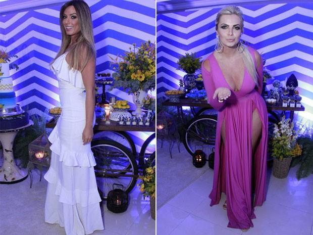 Nicole Bahls x Veridiana Freitas (Crédito: Ego)