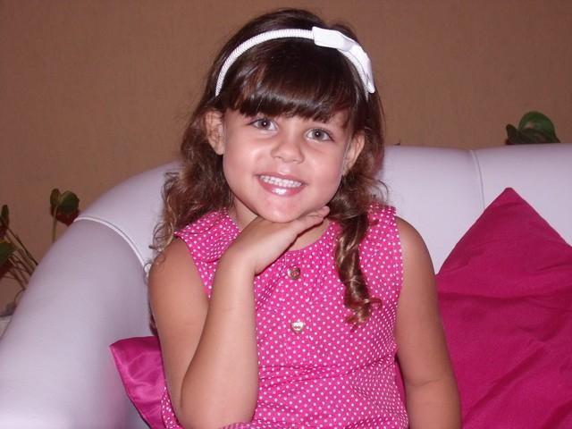 Giovanna Resende Salgado, de 10 anos, não resistiu