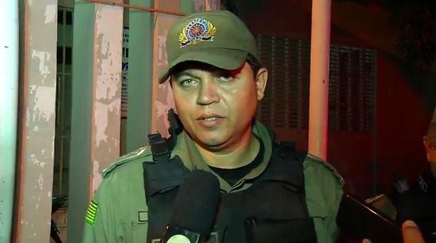 Capitão Silas, Comandante da Companhia Independente do Promorar (Crédito: Rede Meio Norte)