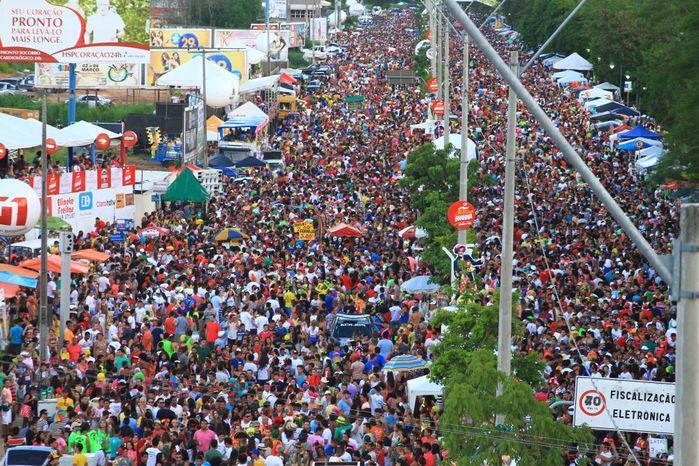 Estimativa é que o evento reuna 300 mil pessoas em Teresina (Crédito: Reprodução)