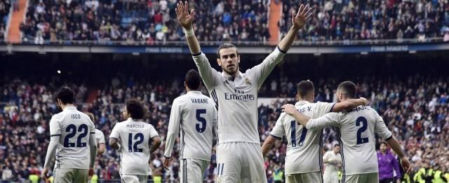 Gareth Bale marca e Real Madrid se firma na liderança do Espanhol