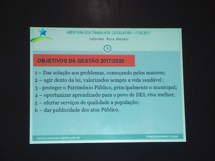 Prefeito Valmir Barbosa abre trabalhos na Câmara Municipal - Imagem 30