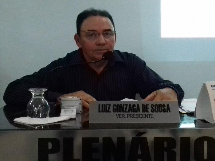 Vereador Luiz Quinor (Crédito: Josely Ecologista)