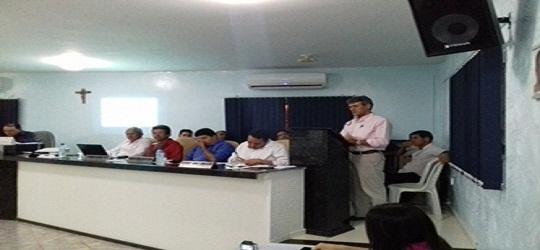 Prefeito Valmir Barbosa abre trabalhos na Câmara Municipal