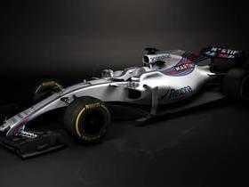 Williams apresenta seu novo carro