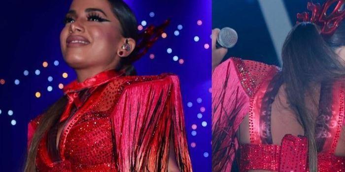 Anitta sobre bumbum à mostra em shows: 'Pouco me importa'
