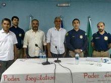 Lagoa Alegre firma parceria com a PRF para palestras nas escolas