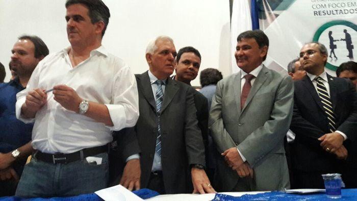 Solenidade de filiação do Partido Progressista (PP) (Crédito: Efrém Ribeiro)