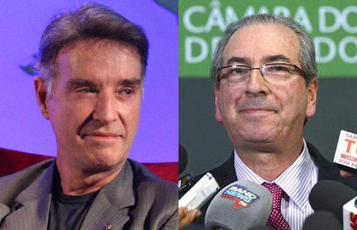 Eike Batista e Eduardo Cunha