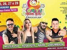 Programação do Carnaval de Miguel Alves