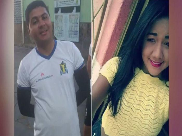 Leonardo Fábio Barros dos Santos e sua namorada Samara Sabrina da Silva Pacheco
