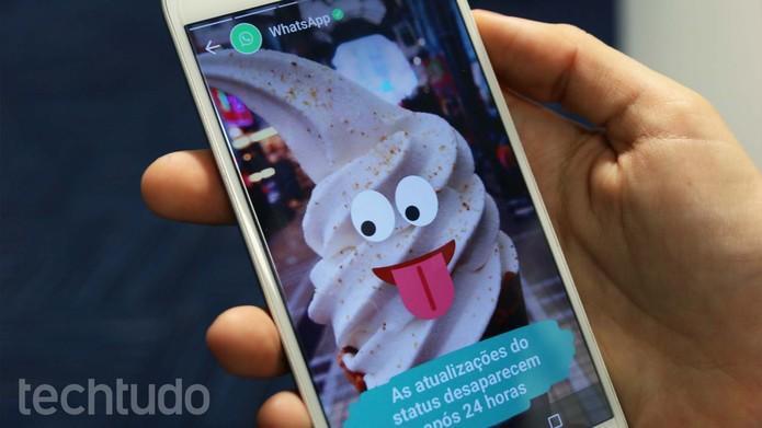 WhatsApp ganha status com fotos e vídeos