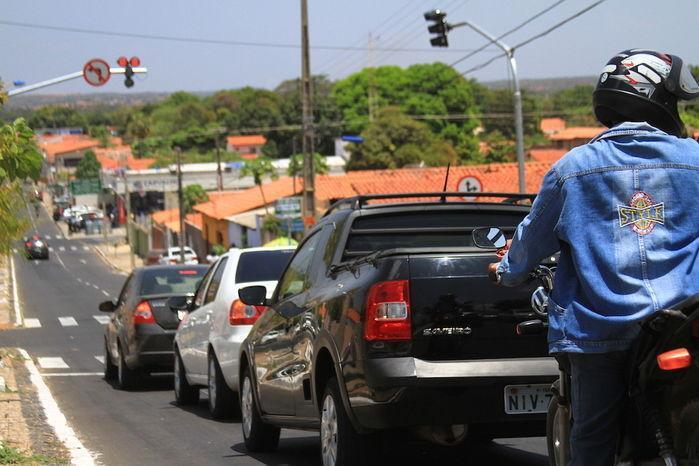 Trânsito da capital (Crédito: Reprodução)