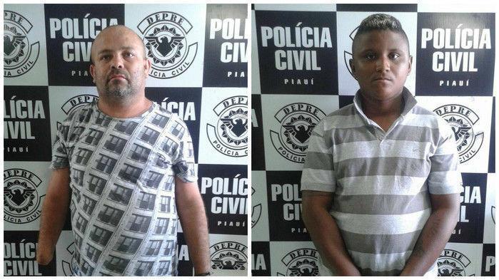 Pai e filho presos por tráfico (Crédito: Reprodução)