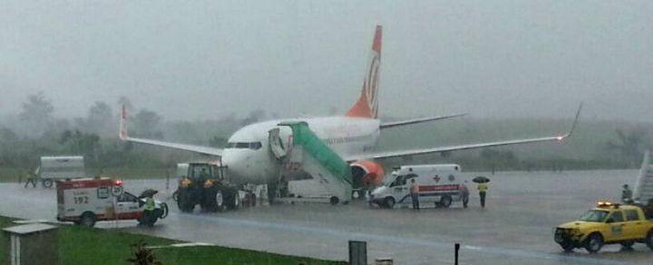 Homem passal mal e morre durante voo de Belo Horizonte a Brasília