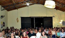 Palestra com a Dra. Graça Moura abre encontro com professores