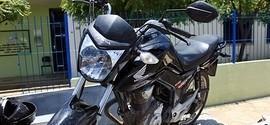 Moto roubada no Ceará é encontrada em Piracuruca pela PM