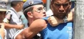 PM e usuários de drogas entram em confronto na Cracolândia