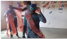 CAPS realiza carnaval para os usuários