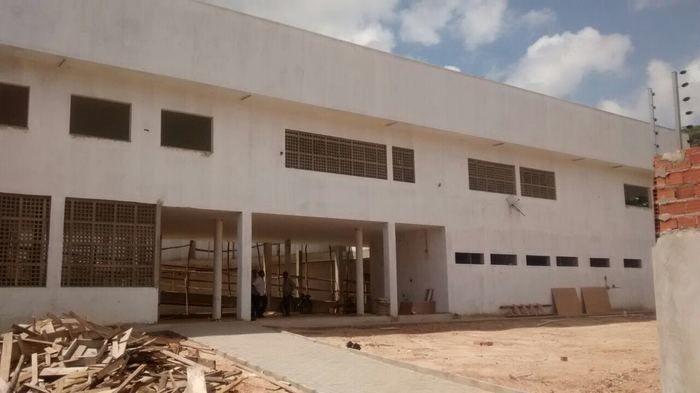 As obras do  do Centro de Conviência estão previstas para abril