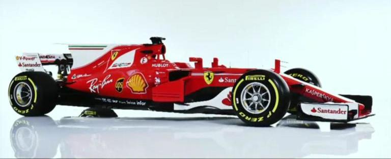 Ferrari apresenta oficialmente o SF70-H para a temporada 2017
