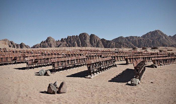 Cinema no deserto (Crédito: Kaupo Kikkas)