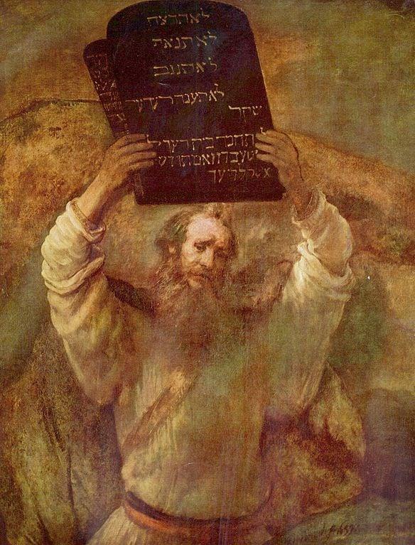 Os 10 mandamentos (Crédito: Reprodução)