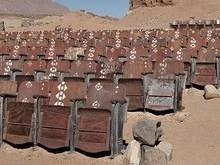 Existe um cinema abandonado no meio de um deserto no Egito