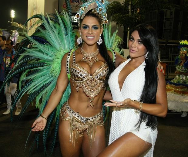 Fran Petersen e Luana Caetano (Crédito: Reprodução)