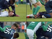 Atacante salva vida de goleiro após choque com outro em campo