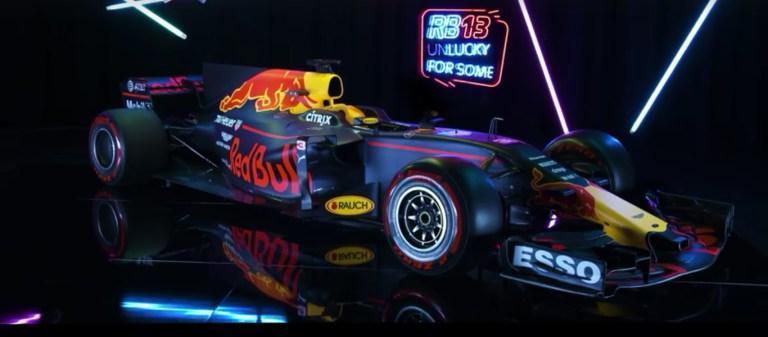 Red Bull apresenta seu RB13 para ser azarão na temporada de 2017