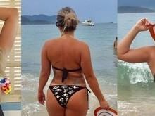 Fani faz ensaio sexy para o noivo após ganhar 15 quilos