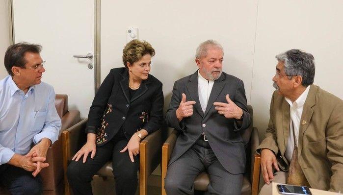 Dilma visitou Lula